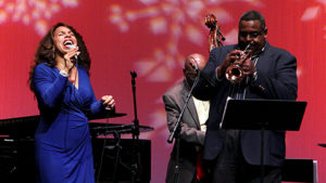 If you get bored Christmas night, check out the free All-Star Christmas Day Jazz Jam on the Kennedy Center's Millennium Stage at 6 p.m. (Photo: Kennedy Center)