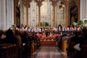 The National Cathedral's Choral Society performs its annual Joy of Christmas concert this Saturday and Sunday. (Photo: Cathedral Choral Society)