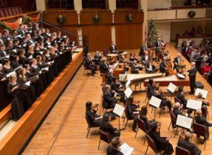 The Univeristy of Maryland Concert Choir joins the National Symphony Orchestra for its annual performance of Handel's <em>Messiah</em>. (Photo: National Symphony Orchestra/Facebook)