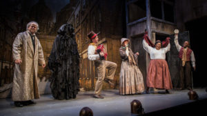 The Second City comedy troupe performs <em>Twist Your Dickens</em> at the Kennedy Center through Dec. 31. (Photo: Kennedy Center)