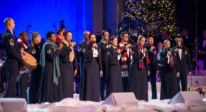 The U.S. Air Force Band's Singing Sergeants will perform two shows at the Smithsonian Holiday Festival on Saturday. (Photo: Singing Sergeants/Facebook)