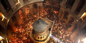 Take a 3-D tour of the Tomb of Christ. (Photo: National Geographic Museum)