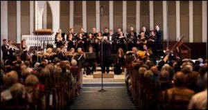 The Washington Bach Consort performs Bach's Christmas Oratorio on Saturday. (Photo: Washington Bach Consort/Facebook)