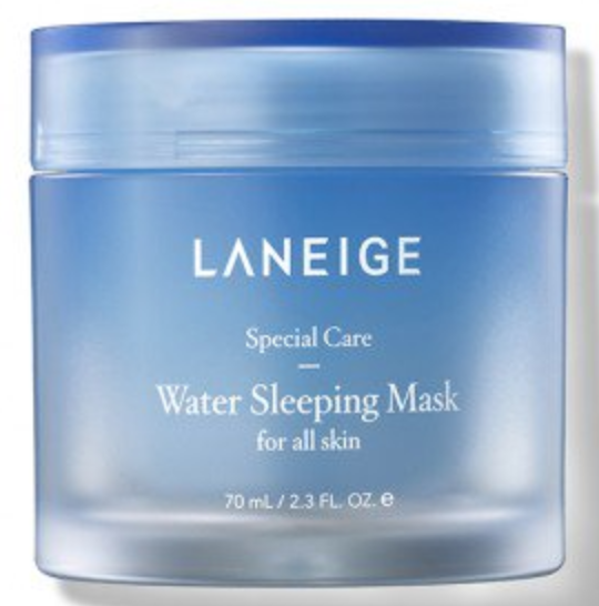 Laneige's Water Sleeping Mask fills your pores with hydro ionized mineral water. (Photo: Laneige)