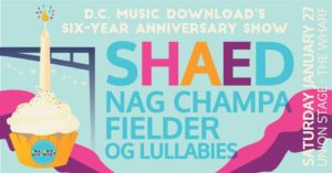 D.C. Music Download celebrates its sixth anniversary with a concert Saturday night. (Image: D.C. Music Download)