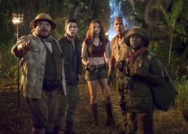Jumanji: Welcome to the Jungle finally made it to first place last weekend taking in $37.23 million. (Photo: Sony Pictures)