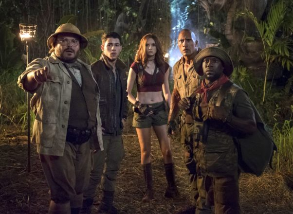 <em>Jumanji: Welcome to the Jungle</em> finally made it to first place last weekend taking in $37.23 million. (Photo: Sony Pictures)