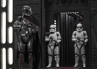 Star Wars; The Last Jedi led over the New Year's weekend with $66.81 million, just beating Jumanji: Welcome to the Jungle. (Photo: Lucasfilm)