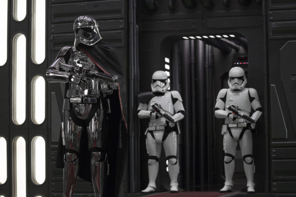 <em>Star Wars; The Last Jedi</em> led over the New Year's weekend with $66.81 million, just beating <em>Jumanji: Welcome to the Jungle</em>. (Photo: Lucasfilm)