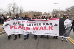 The 37th annual Martin Luther King Jr. Parade and Peace March will be Monday morning in Anacostia. (Photo; MLK Holiday DC)