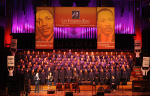 The Let Freedom Ring Choir performs at a previous year's concert. (Photo: Georgetown University)