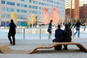 Keep your resolutions with a free fitness class and ice skating lessons at Canal Park this Saturday from 11 a.m.-1 p.m. (Photo: Canal Park)