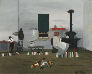 <em>Interior</em> by Horace Pippin is among the self-taught artists feature in the National Gallery of Art's new display. (Photo: National Gallery of Art)