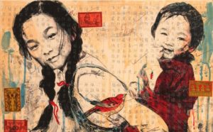 The National Museum of Women in the Arts is displaying works from Hung Liu including this one titled <em>Sisters</em>. (Photo: National Museum of Women in the Arts)