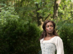 Felicia Curry plays Susannah in <em>Jefferson's Gardening</em> debuting this weekend at Ford's Theatre. (Photo: Ford's Theatre)