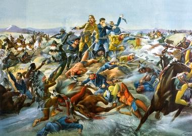 Buffalo Bill's Wild West Show often featured reenactments of Battle of Little Big Horn. (Photo: Buffalo Bill Center of the West)