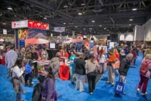 The Travel & Adventure Show returns to the convention center this weekend. (Photo: Travel & Leisure Show)
