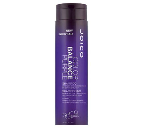 Joico's Color Balance Purple Shampoo moisturizes your strands while it tones. (Photo: Joico)