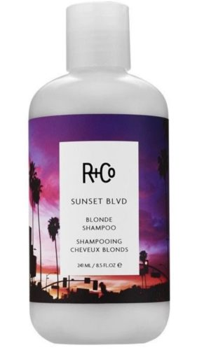 R+Co's Sunset Blvd purple shampoo smells like vanilla and sandalwood. (Photo: Rogue & Co.)
