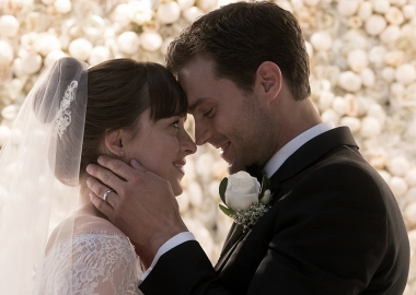 Fifty Shade Freed led the box office last weekend with $38.56 million. It is the last installment in the triology. (Photo: Universal Pictures)