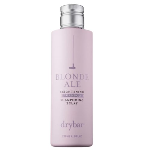 Drybar's Blonde Ale purple shampoo has keratin in it, which makes your hair silky. (Photo: Drybar)