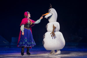 <em>Disney on Ice: Frozen!</em> is now playing at the Capital One Arena. (Photo: Feld Entertainment)