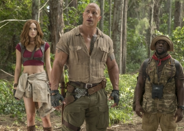 Jumanji: Welcome to the Jungle scored big Super Bowl weekend, earning $10.93 million to return to first place at the box office. (Photo: Sony Pictures)