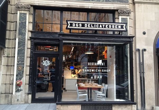 DGS Delicatessen closed permanently in Dupont so its owner could focus on their Little Sesame hummus pop-up. (Photo: PoPville)