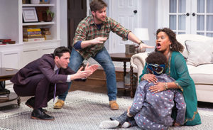 In <em>Familiar</em>, a Zimbabwean family prepares for their eldest daughter's wedding, but  it causes a divide over tradition and assimilation. (Photo: Woolly Mammoth Theatre Company)
