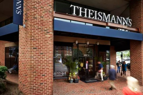 Alexandria Restaurant Partners is buying a controling interest in Theismann's Restaurant and Bar in Old Town. (Photo: Visit Alexandria)