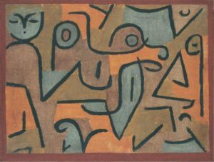 <em>Young Moe</em> by Paul Klee is amonth the works on display at The Phillips Collection. (Photo: The Phillips Collection)