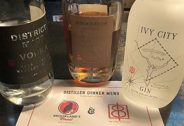 Brookland's Finest will have a Mardi Gras dinner with One Eight Distilling on Tuesday. (Photo: Brookland's Finest/Instagram)