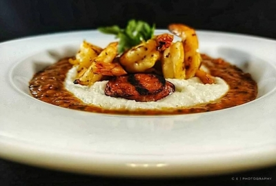 The Executive Diner and Cafe in Old Town will serve comfort food including Creole shrimp and grits. (Photo: Chef's Eye Photography)