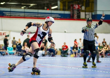 The D.C. Rollergirls launch their 2018 against Charlottesville on Saturday. (Photo: D.C. Rollergirls)
