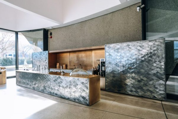 Dolcezza opened a permanent location in the lobby of the Hirshhorn on Friday. (Photo: Farrah Skeiky)