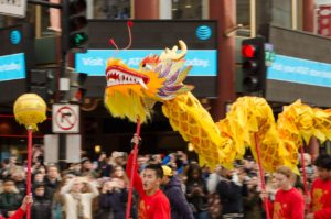 Celebrate the Year of the Dog at the D.C. Chinese New Year Parade at 2 p.m. Sunday in Chinatown. (Photo: D.C. Chinese New Year Parade)