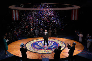 <em>The Great Society<em> about LBJ opens Friday at Arena Stage. (Photo: Stan Barouh/Arena Stage)