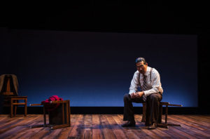 The one-man play <em>Hold These Truths</em> opens at Arena Stage this weekend. (Photo: Patrick Weishampel)