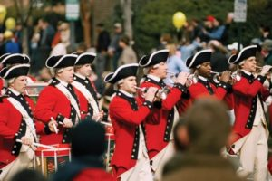 Drum and bugle corps will be among the 80 units in the George Washington Birthday Parade on Monday. (Photo: Visit Alexandria)
