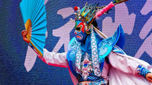 The Sichuan Opera will perform free on the Kennedy Center's Millennium Stage at 6 p.m. Saturday. (Photo: Kennedy Center)
