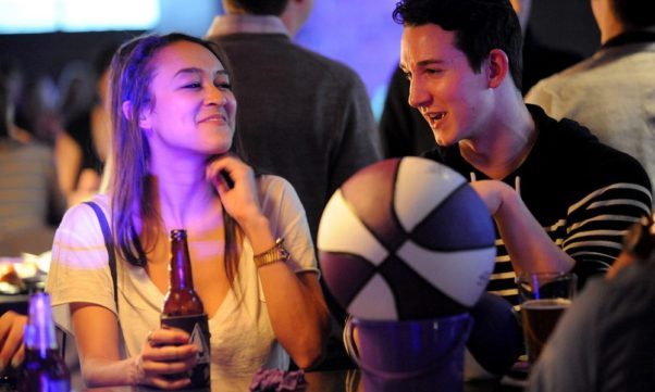 Pick up a (basketball) player at the bar this March Madness. (Photo: New York Minute Magazine)