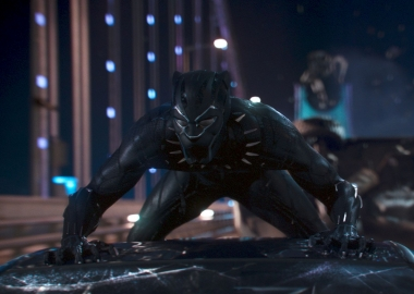 Black Panter took in $40.82 million at the box office over the weekend for first place, holding off A Wrinkle in Time (Photo: Marvel Studios)