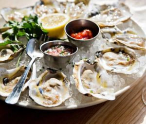 Brasserie Beck will have an all-you-can-eat oysterfest from 11 a.m.-3 p.m.on St. Patrick's Day. (Photo: Brasserie Beck)