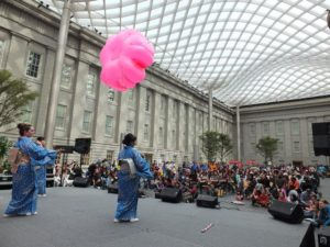 The Smithsonian American Art Museum holds its annual Cherry Blossom Celebration on Saturday. (Photo: Smithsonian American Art Museum)