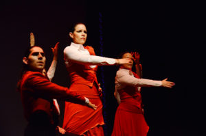 Furia Flamenca Dance Company perform at 8 p.m. Friday and 7 p.m. Saturday as part of the Atlas Interections Festival. (Photo: Furia Flamenca Dance Company)