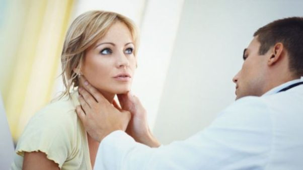 Hashimoto's thyroiditis is a condintion in which the body's immune system attachks the thyroid, a gland located in the front of the neck below the adam's apple. (Photo: WebMD)