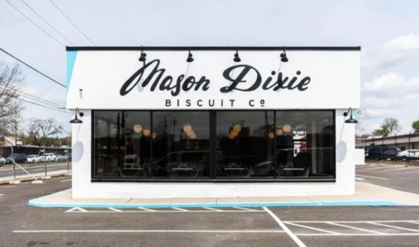 Mason Dixie Biscuit Co. closed its drive-thru restaurant Sunday and hopes to reopen another restaurant soon in Northwest D.C. (Photo: Rey Lopez)