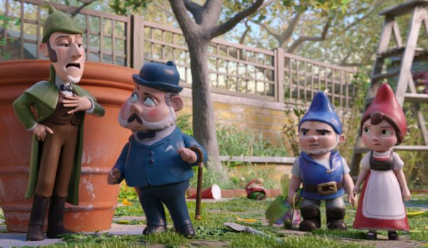 <em>Sherlock Gnomes</em> debuted in fourth place with $10.60 million. (Photo: Paramount Pictures/MGM)