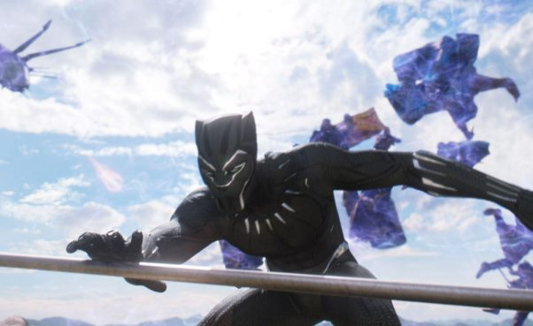 <em>Black Panther</em> topped the box office for the fifth straight weekend with $26.65 million. (Photo: Marvel Studios)