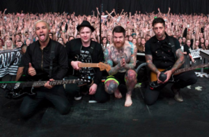 """Fall Out Boy headlines """"Stay Amped: A Concert to End Gun Violence"""" at The Anthem on Friday night. (Photo: Fall Out Boy/Facebook)"""